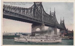 NEW YORK CITY, 00-10s; Queensboro Bridge over Blackwell's Island, East River