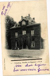 CPA FOLEMBRAY Pavillon du Regisseur (202084)
