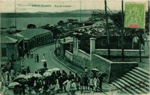 CPA Diego Suarez- Rue du Catinat MADAGASCAR (830021)
