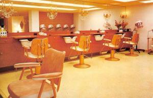 New York City Royal Beauty Furniture Salon Interior Vintage Postcard K84592