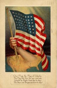 USA - Our Flag, WW I