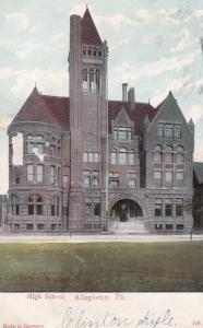 ALLEGHENY, Pennsylvania; High School, PU-1907