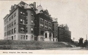 Mercy Hospital at Des Moines, Iowa - DB
