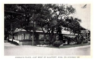 Mississippi Gulfport  Angelo's Place Restaurant