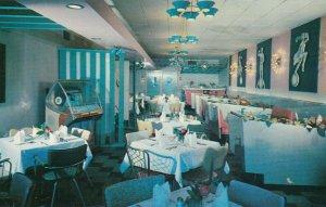 NIAGARA FALLS, Ontario, Canada, 50-60s; Capri Restaurant , Juke Box