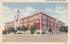 TULSA, Oklahoma, 1930-1940's; Central High School