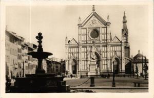 CPA Firenze La Piazza di S.Croce . ITALY (592216)