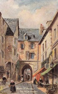 MONT ST. MICHEL, Manche, France, 1907 ;Main Street ; TUCK 7175