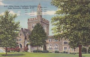 Kigo House Freshman Dormitory Duke University Durham North Carolina 1954