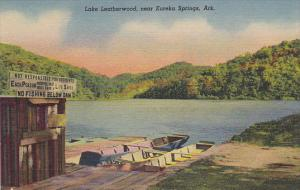 Arkansas Lake Leatherwood Near Eureka Springs Curteich