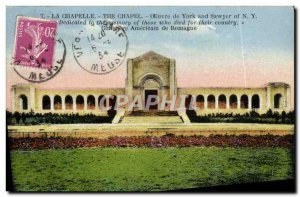 Old Postcard La Chapelle Work of York and Sawyer