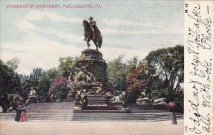 Pennsylvania Philadelphia Washington Monument 1907