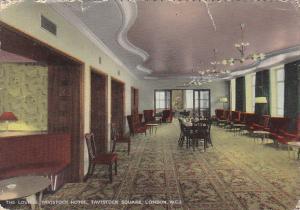 England London The Lounge Tavistock Hotel Tavistock Square