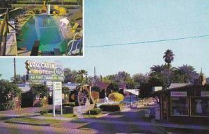 Arizona Phoenix Log Cabin Motel With Pool