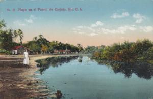 Playa en el Puerto de Corinto , NICARAGUA, 00-10s