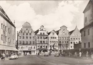 RP; AUGSBURG, Bavaria, Germany; Blick auf die Maximilianstrosse, PU-1962