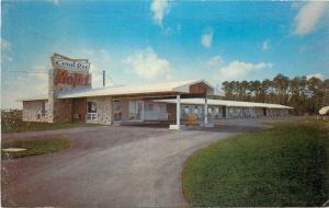 Florida City Florida~Coral Roc Motel~Gravel Road Entrance~1970 Postcard