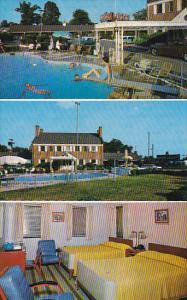 3 View, George Washington Motor Court, Swimming Pool, Fredericksburg, Virgini...