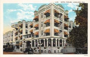 A84/ Lakeland Florida Fl Postcard c1915 Hotel Thelma Building 5