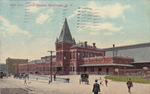 New York Rochester New York Central Railroad Station 1910