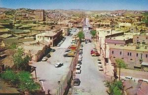 View of City of Nogales, Sonara, Mexico, 40-60s