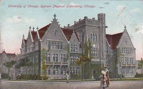 Illinois Chicago University Of Chicago Ryerson Physical Loboratory 1910