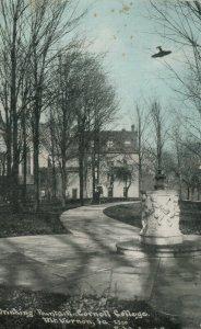 MT VERNON , Iowa , 1912 ; Drinking Fountain , Cornell College ; #2