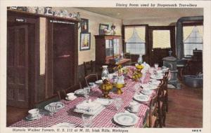 Michigan Iris Hills Dining Room Used By Stagecoach Travelers Historic Walker ...