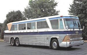 Mechanicsburg PA Royal Coach Bus Advertising Postcard