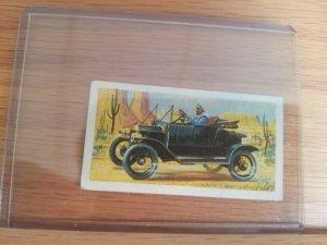 EARLY MOTOR CAR.VTG BROOKE BOND TEA CARD.