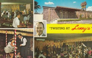 Fort Lauderdale , Florida , 1940-60s ; Twisting at Lenny's Nite Club