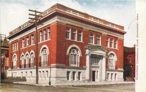 Davenport Iowa~Davenport Commercial Club Corner View~Neighborhood 1910