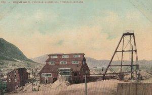 TONOPAH , Nevada, 1900-10s ; Mizpah Shaft ,Tonopah Mining Company