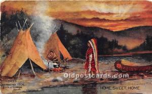 Home Sweet Home Indian Unused