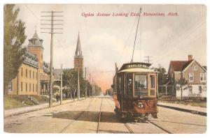 Post Card 1907 Michigan