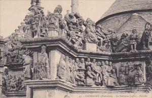 Le Calvaire, Details, GUIMILIAU (Finistere), France, 1900-1910s