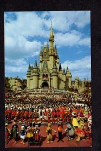 FL Cinderella Mickey Mouse Disney World Amusement Park Orlando Florida Postcards