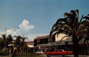 Florida Venice Downtown Showing Store Fronts 1976