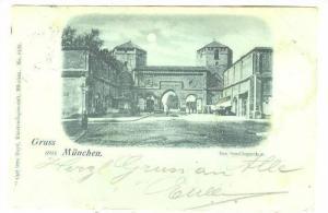 Das Sendlingerthor, Gruss Aus Frankfurt a. Main (Hesse), Germany, PU-1898