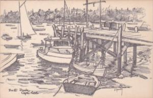 Massachusetts Cape Cod Boat Dock