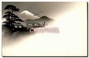 Old Postcard Japan Nippon Landscape