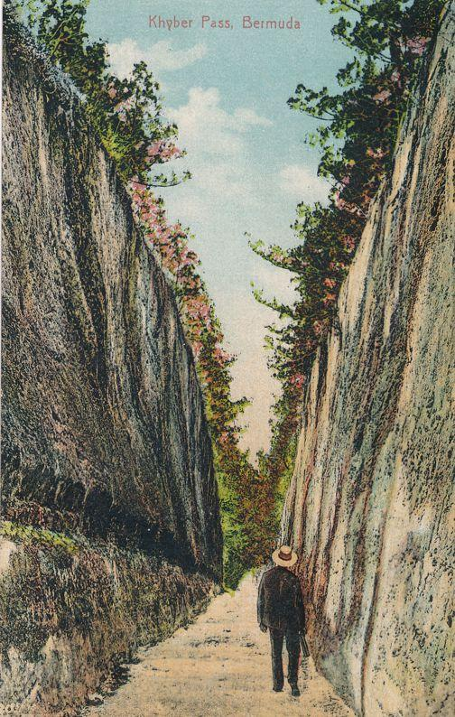 Walking through the Khyber Pass, Bermuda - DB