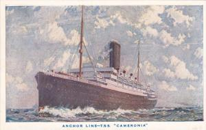 1900-1910'S; Anchor Line, T.S.S. Cameronia