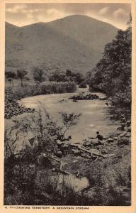 Tanzania Tanganyika Territory A Mountain Stream Landscape Postcard