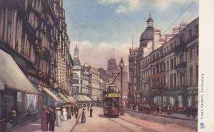 LIVERPOOL , Lancashire , England , 19 ; Lord Street ; TUCK 1461
