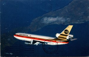 Continental Airlines DC-10 1984