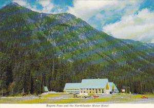 Canada Rogers Pass and Northlander Motor Hotel British Columbia