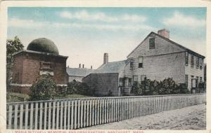 NANTUCKET , Massachusetts , PU-1912 ; Maria Mitchell Memorial & Observatory