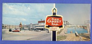 Daytona Beach,Florida/FL Postcard,The Riviera Red Carpet Inn