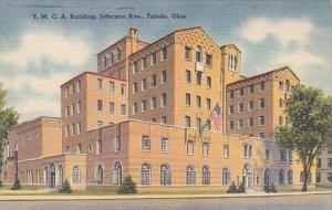 Ohio Toledo Y M C A Building Jefferson Avenue 1980 Albertype